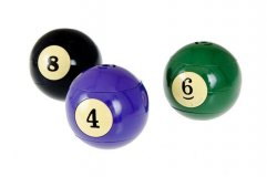 Зажигалка «Billiard Ball 1-15»  40.067.16.0