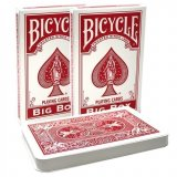 Карты Bicycle Big Box Red 1028526