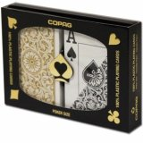 Карты Copag Bridge Jumbo 1546 Double Deck (Black, Gold) CPG-23