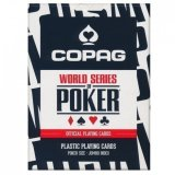 Карты Copag WSOP (Best Seller) , синяя рубашка CPG-WSOP-blue